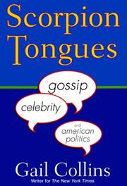 Cover of: Scorpion tongues | Gail Collins