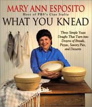 Cover of: What you knead