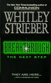 Cover of: Breakthrough: The Next Step