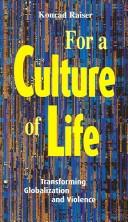 Cover of: For a culture of life