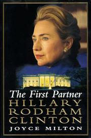Cover of: The first partner--Hillary Rodham Clinton: a biography