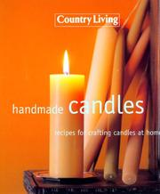 Cover of: Handmade candles