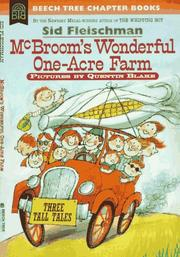 Cover of: McBroom's wonderful one-acre farm: three tall tales