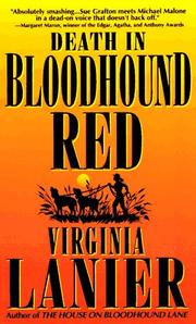 Cover of: Death in Bloodhound Red (Bloodhound (Paperback)) | Virginia Lanier