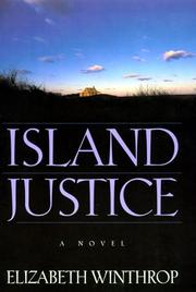 Cover of: Island justice: a novel