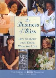 Cover of: business of bliss | Janet Allon