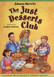 Cover of: The just desserts club