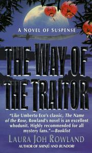 Cover of: The Way of the Traitor | Laura Joh Rowland