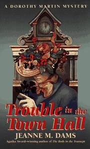 Cover of: Trouble in the Town Hall (Dorothy Martin Mysteries