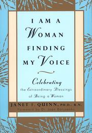 Cover of: I am a woman finding my voice | Janet F. Quinn