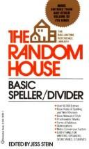 Cover of: The Random House speller/divider |