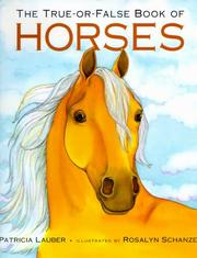 Cover of: True-or-False Book of Horses