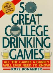 Cover of: 50 great college drinking games
