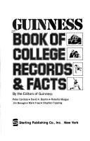 Cover of: Guinness book of college records & facts |