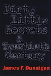 Cover of: Dirty little secrets of the twentieth century