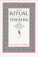 Cover of: From ritual to theatre