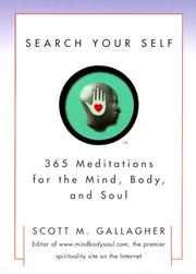 Cover of: Search your self
