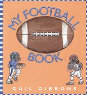 Cover of: My Football Book