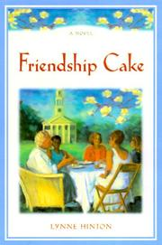Cover of: Friendship cake