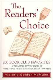 Cover of: The readers' choice