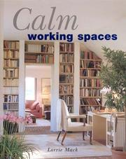 Cover of: Calm working spaces
