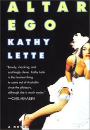 Cover of: Altar Ego | Kathy Lette