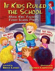 Cover of: If Kids Ruled the School