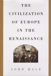 Cover of: The civilization of Europe in the Renaissance