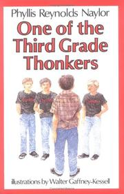 Cover of: One of the third grade Thonkers |