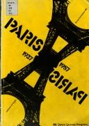 Cover of: Paris 1937-Paris 1957