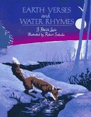 Cover of: Earth verses and water rhymes