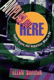 Cover of: Anyplace but here | Ellen Eichenwald Switzer
