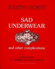 Cover of: Sad underwear: and other complications  more poems for children and their parents