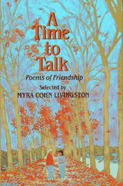 Cover of: A Time to Talk