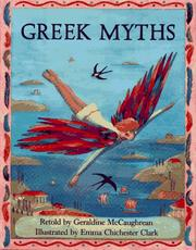 Cover of: Greek myths