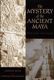 Cover of: The mystery of the ancient Maya