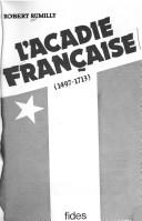 Cover of: L' Acadie française