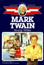 Cover of: Mark Twain, boy of old Missouri