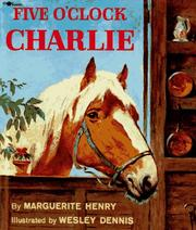 Cover of: Five o'clock Charlie