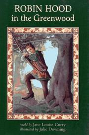 Cover of: Robin Hood in the greenwood