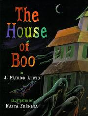 Cover of: The house of Boo