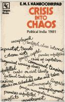 Cover of: Crisis into chaos