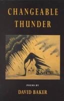 Cover of: Changeable thunder