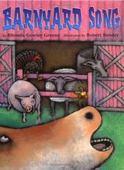 Cover of: Barnyard song | Rhonda Gowler Greene