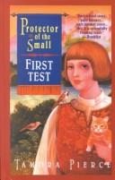 Cover of: First test