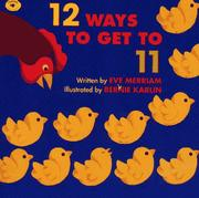 Cover of: 12 Ways to Get to 11 (Aladdin Picture Books) | Eve Merriam