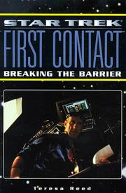 Cover of: Star trek, first contact