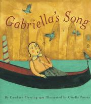 Cover of: Gabriella's Song