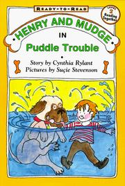 Cover of: Henry And Mudge In Puddle Trouble |