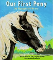 Cover of: Our first pony